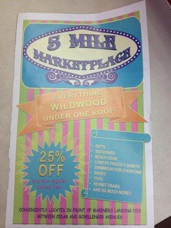 Wildwood nj discount coupons