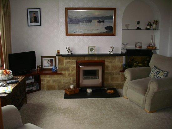 Mrs E MacLennan: Salón de la casa