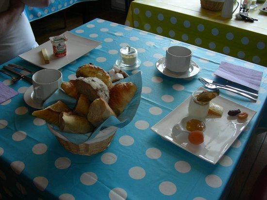 La Goelette: excellent petit déjeuner individuel