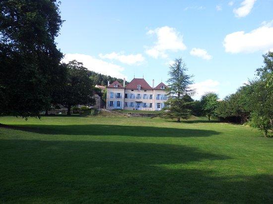 Chateau de Barbirey: de tuin