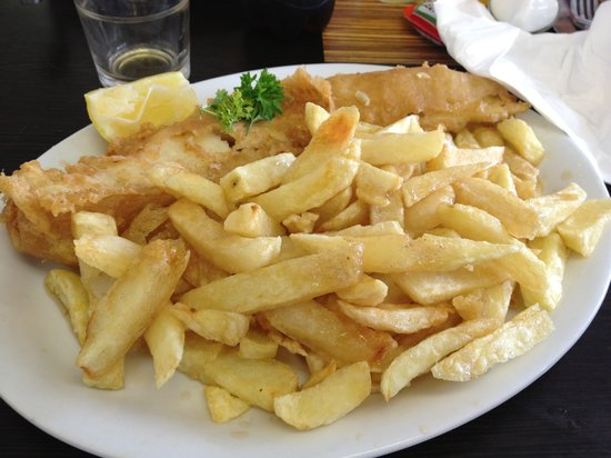 The Ilfracombe Fryer: cod and chips