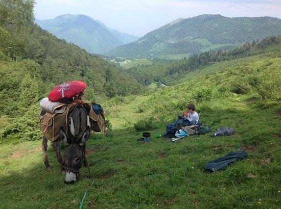 Association Petits Pas: Rest during the descent