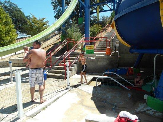 Ravine Waterpark: Resbaladilla extrema