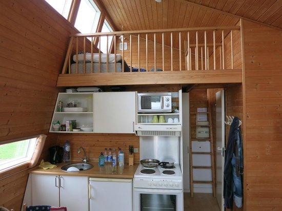 Dancamps Kolding: Cabin inside view
