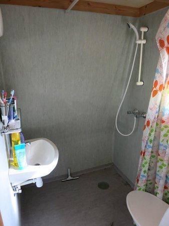 Dancamps Kolding: Bathroom view