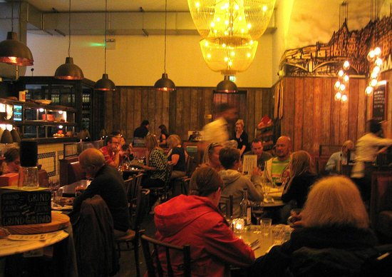Jamie's Italian: Rose Street dining room, Aug 2013