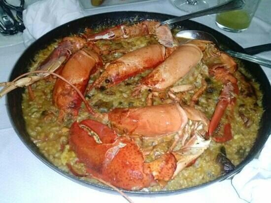 Restaurante Siete Puertas CB.: Arroz con Bogavante.