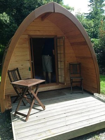 Langstone Manor Holiday Park & Cottages: Kitty Tor pod