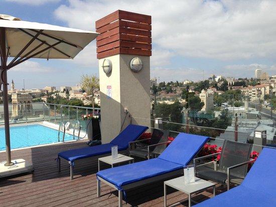 St George Hotel Jérusalem : pool