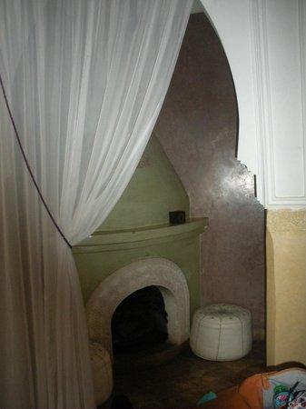 Riad Libitibito: Salon suite Oumkeltoum