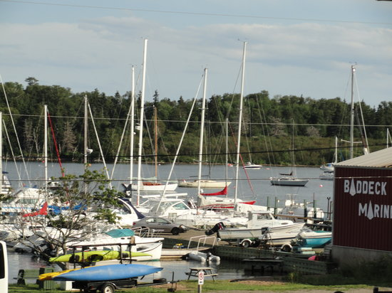 Baddeck Heritage House Bed and Breakfast: Beautiful marina