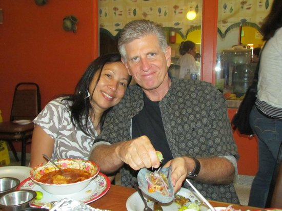 Lalo's Restaurant: Ika and Mitch who took us there