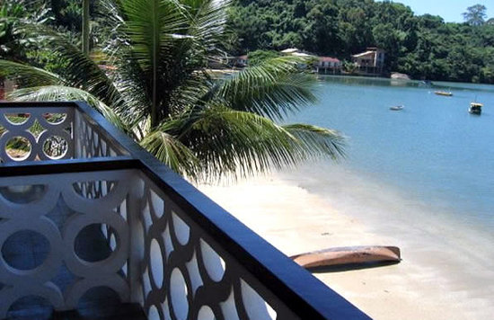 เมือง Paraty: ilha do breu