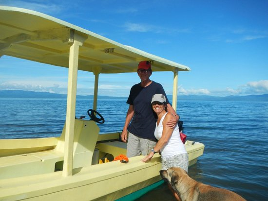 Saladero Eco Lodge: Susan and Harvey