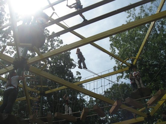 Luray Caverns' Rope Adventure Park : Ropes Course