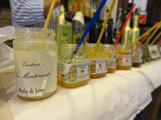 Cantina du Sciacchetra: jams!