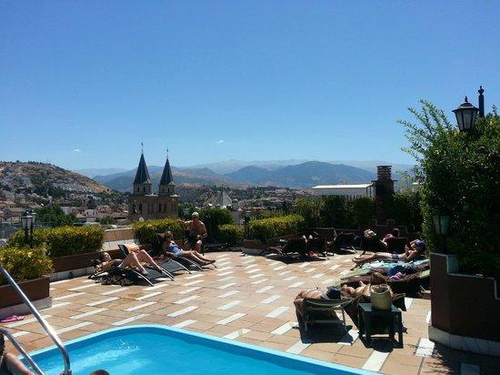 Rooftop Pool Picture Of Hotel Barcelo Carmen Granada