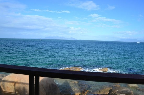 Base Backpackers Magnetic Island: View from the room door