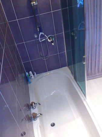 Grayling House Bed & Breakfast: Main room: bathtub