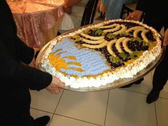 Hotel Mocambo : torta cena di ferragosto