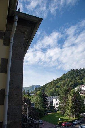 Grand Hôtel Le Mont Dore : VIew of Puy de Sancy from the room