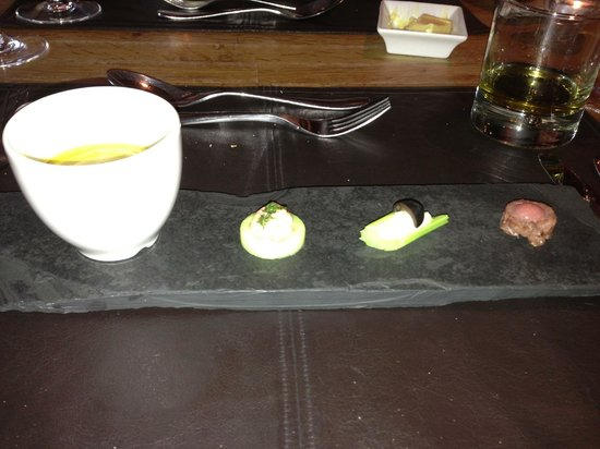 The Lime Tree: Amuse bouche