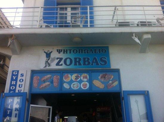 Zorbas: Front door