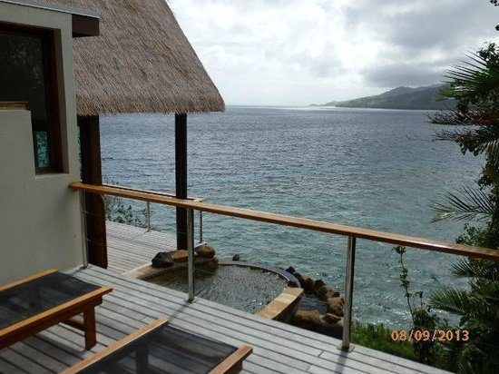 Royal Davui Island Resort: Ocean View