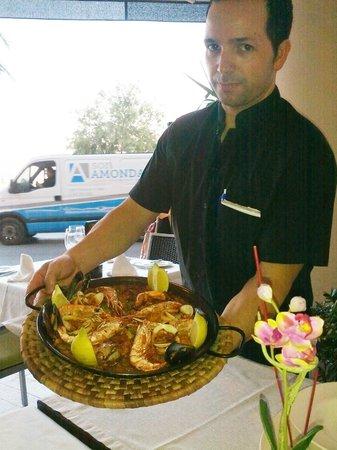 Restaurant Ca'n Josep: The best waiter ever!!
