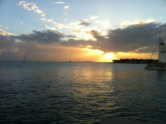 Key West Bed and Breakfast: Key west sunset