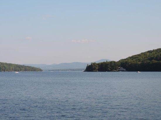 Lake Winnipesaukee: View from Church Landing in Meredith