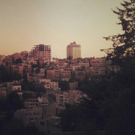 Jabal Al Lweibdeh: view of jabal amman from alwiebdeh