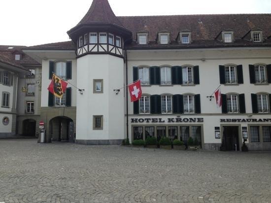 Krone Hotel-Restaurant: stunning entrance