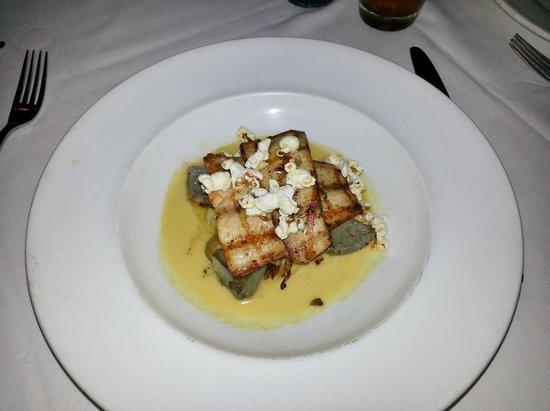 Acadiana: Grilled Lemonfish with fingering potatoes