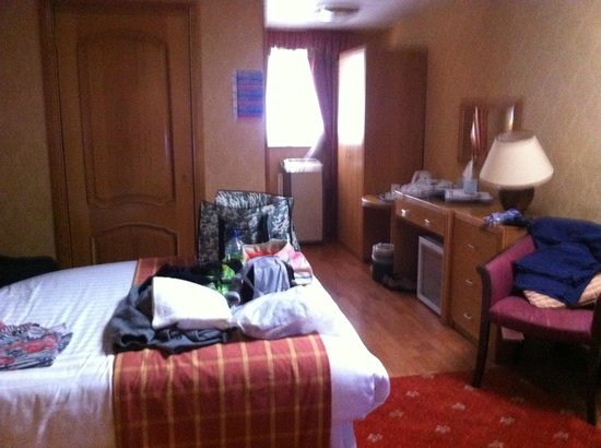 Leapark Hotel: Our spacious room