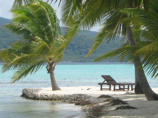 Vahine Island - Private Island Resort: Plage