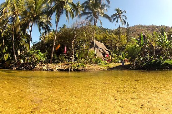 Yelapa Oasis: View from the river