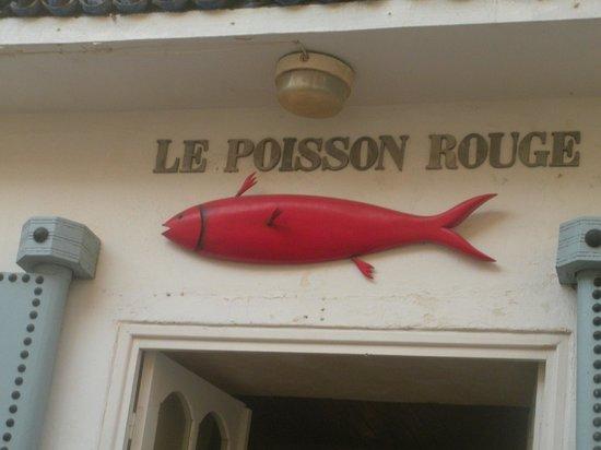 Le Restaurant du Poisson Rouge : L'enseigne