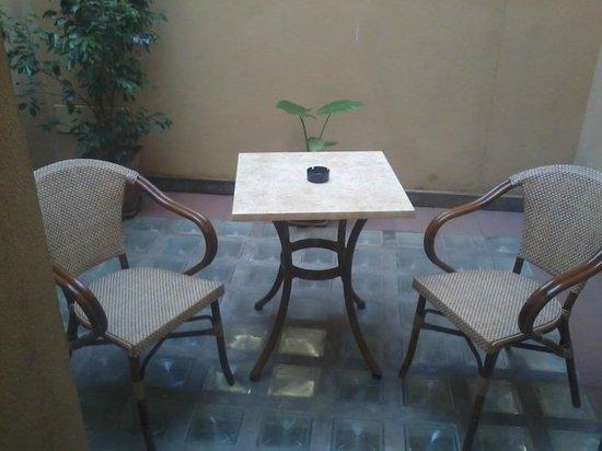 Hotel Panama : Terrazzino esterno