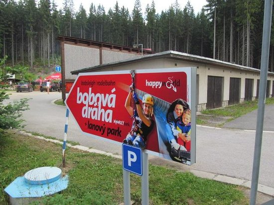 Bobsleigh & MonkeyPark Spindleruv Mlyn a Harrachov.