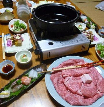 Ryusenkaku : 但馬牛すき焼き