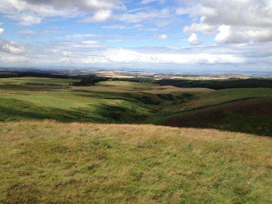 Hidden Castles Adventure Tour: Beautiful views of East Lothian