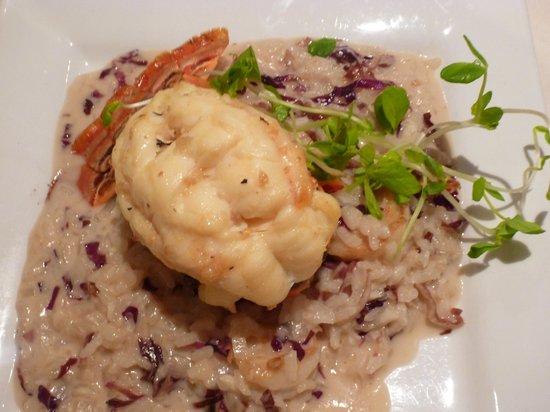 Chanterelles & Lobster Risotto Recipe — Dishmaps