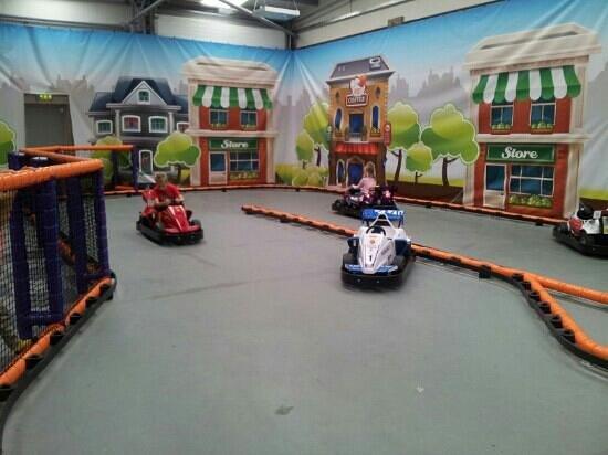 Planet Play: go karting fun