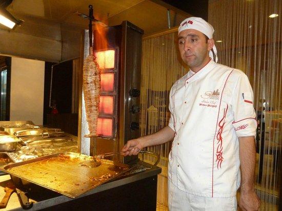 Suhan Cappadocia Hotel & Spa: Kebab pret-a-porter