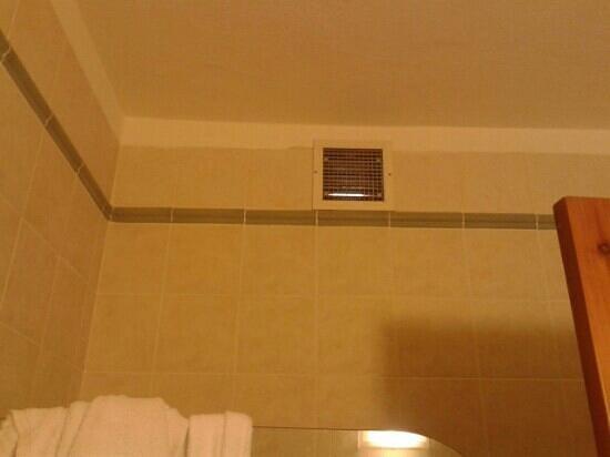 Downtown Hotel : griglia bagno