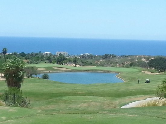 Cabo Real Golf Course: #18 - huge green!