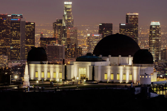 Los Angeles, CA: Griffith Observatory, courtesy of gunthersalami