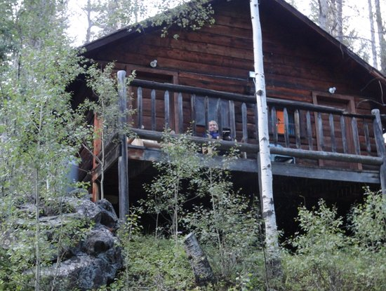 South Fork Mountain Lodge: View of Cabin from Creek