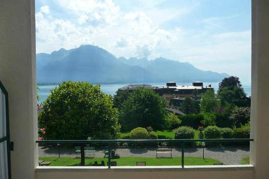 Hotel Masson: Lake Geneva from the terrace